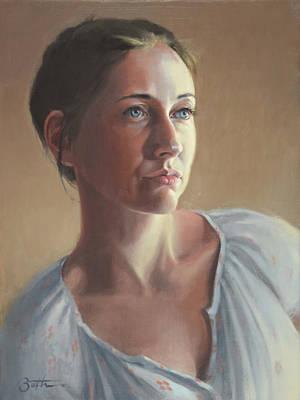 Painting - Jenny by Todd Baxter