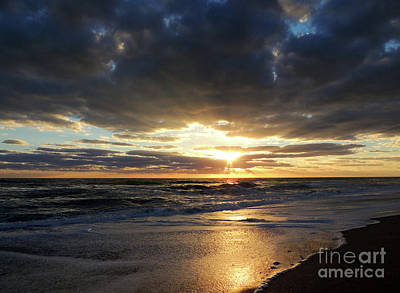 Painting - Jensen Beach Sunrise 3 by Bill Holkham