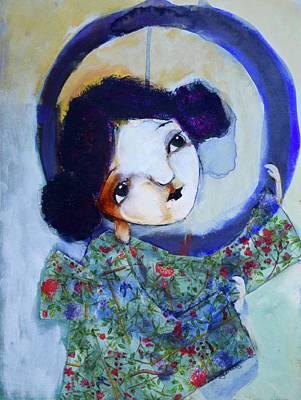 Wall Art - Mixed Media - Jenso by Jen Walls