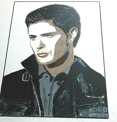 Painting - Jenson Ackles by Audrey Pollitt