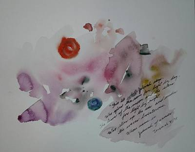Painting - Jeremiah 31 by B L Qualls