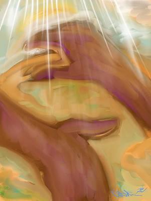 Painting - Jeremiah 32 And 17 by Robert Watson