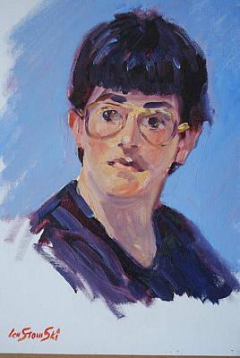 Painting - Jeremy by Len Stomski