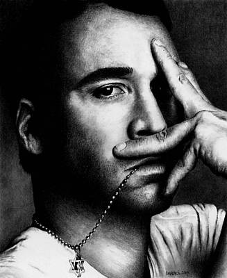Drawing - Jeremy Piven by Rick Fortson