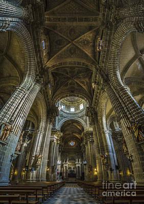 Photograph - Jerez De La Frontera Cathedral Cadiz Spain by Pablo Avanzini