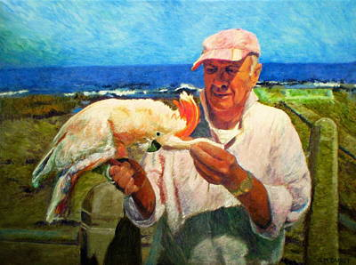 Cockatoo Painting - Jergens And Honey by Michael Durst
