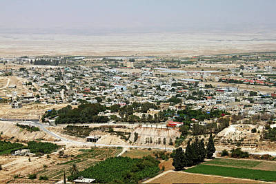 Photograph - Jericho City by Munir Alawi