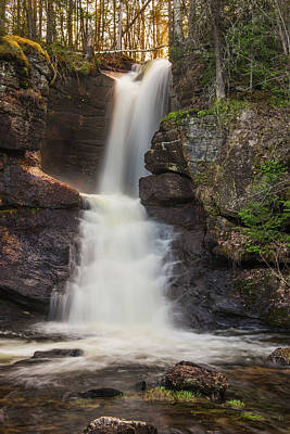 Photograph - Jericho Falls Sunset by Chris Whiton