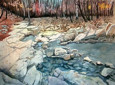 Jericho Rocks Art Print by Jeff Atnip