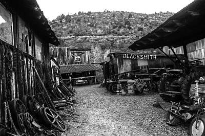 Photograph - Jerome Az Blacksmith Junyard by Toby McGuire