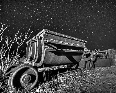 Photograph - Jerome Az Mine Cart Jerome Arizona by Toby McGuire