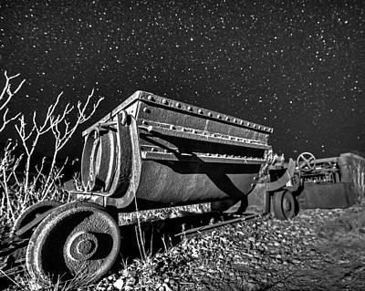 Photograph - Jerome Az Mine Cart Jerome Arizona by Toby McGuire