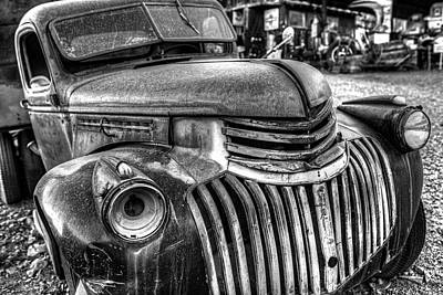 Photograph - Jerome Az Old Truck Junkyard Arizona by Toby McGuire
