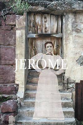 Jerome Arizona Painting - Jerome Ghost by Ellen Henneke