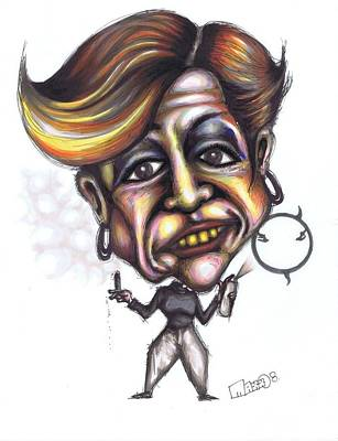 Comedy Central Drawing - Jerri Blank by Maxx Kim