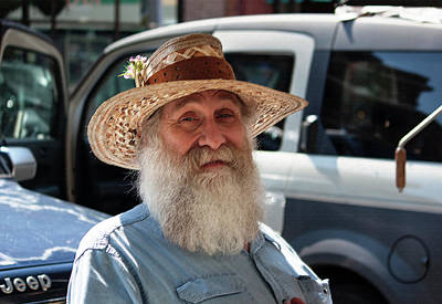 Photograph - Jerry At The Market by Suzanne Gaff