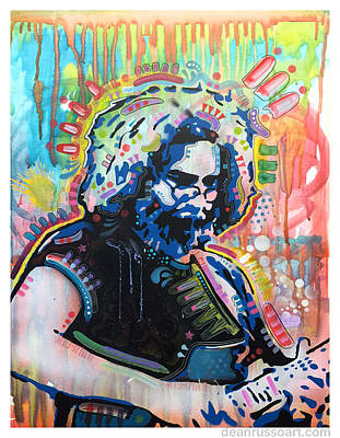 Jerry Garcia Painting - Jerry by Dean Russo