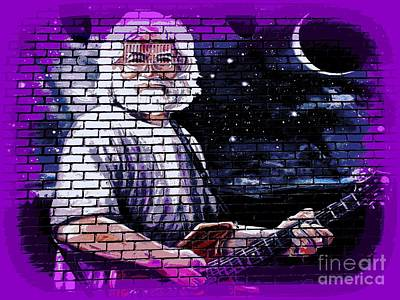 Mural Mixed Media -  Jerry by Ed Weidman