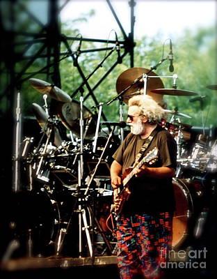 Jerry Garcia Photograph - Jerry Garcia 94' by Matthew Heller