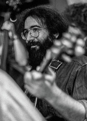 Photograph - Jerry Garcia At The Record Plant by Frank DiMarco