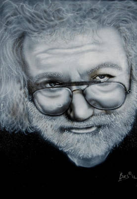 Painting - Jerry Garcia by Bas Hollander