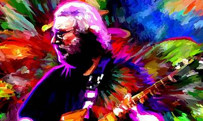 Jerry Garcia Grateful Dead Signed Prints Available At Laartwork.com Coupon Code Kodak Art Print by Leon Jimenez