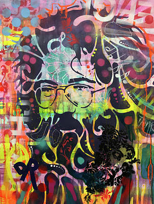 Painting - Jerry Garcia Variant 2 by Dean Russo