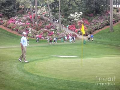 Augusta Golf Photograph - Jerry Kelly by David Bearden