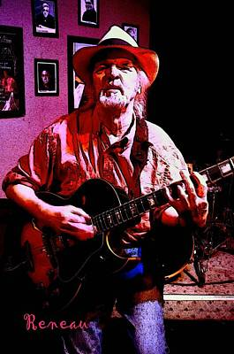 Photograph - Jerry Miller - Moby Grape Man 1 by Sadie Reneau
