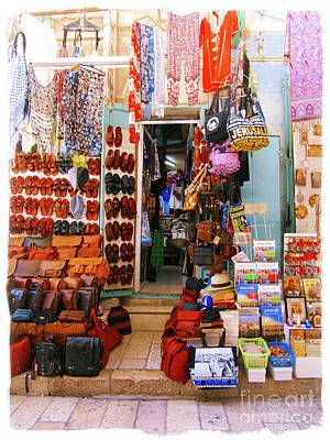 Photograph - Jerusalem Store by Donna Munro