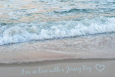 Photograph - Jersey Boy Love Seaside New Jersey by Terry DeLuco