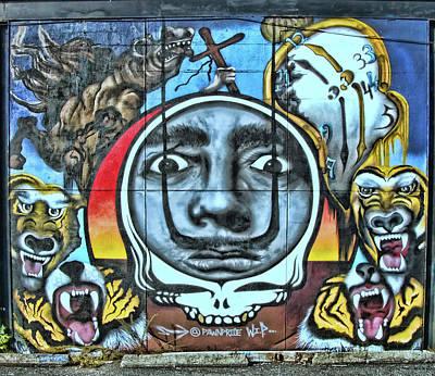 Photograph - Jersey City Mural # 16 by Allen Beatty