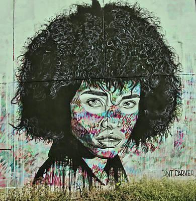Photograph - Jersey City Mural # 18 by Allen Beatty