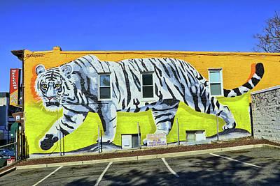 Photograph - Jersey City Mural # 24 by Allen Beatty