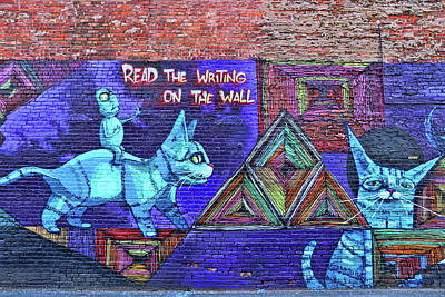 Photograph - Jersey City Mural # 28 by Allen Beatty