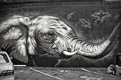 Photograph - Jersey City Mural # 6 by Allen Beatty