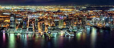 Photograph - Jersey City Panorama by Mihai Andritoiu