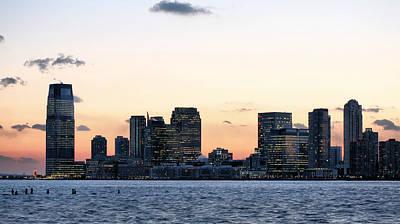Photograph - Jersey City Skyline by JC Findley