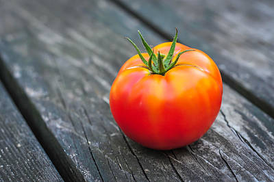 Photograph - Jersey Fresh Garden Tomato by Terry DeLuco