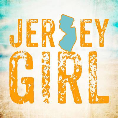 Nj Digital Art - Jersey Girl by Brandi Fitzgerald