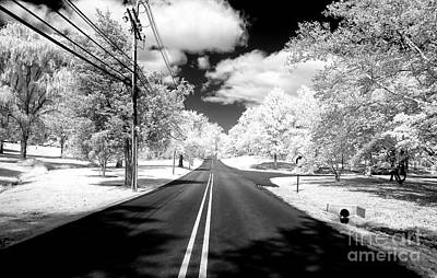 Photograph - Jersey Road Infrared by John Rizzuto