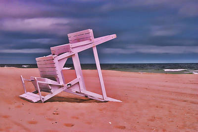 Photograph - Jersey Shore 2 by Allen Beatty