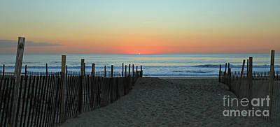 Photograph - Jersey Shore Daybreak by Mary Haber