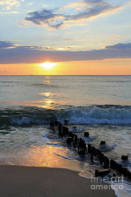 Photograph - Jersey Shore Jetty by Mary Haber