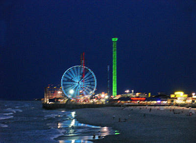 Christmas Cards - Jersey Shore by Steve Karol