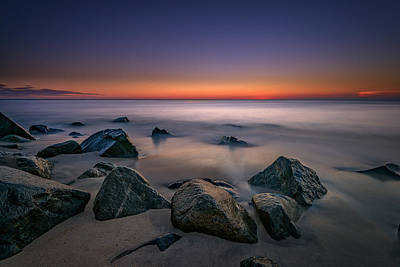 Photograph - Jersey Shore Tranquility by Rick Berk