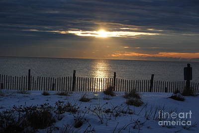 Seaside Heights Photograph - Jersey Sunrise by Daniel Diaz