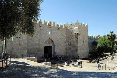 Photograph - Damascus Gate 3 - Jerusalem by Isam Awad