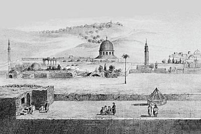 Photograph - Jerusalem 1859 by Munir Alawi