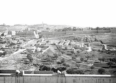Photograph - Jerusalem 1938 by Munir Alawi